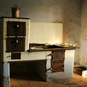 Stove from 19th Century (photo Jiří Mucha)
